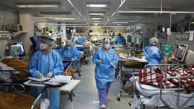 Situación de alto riesgo y ocupación hospitalaria crítica en Brasil