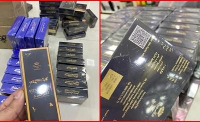 Incautan más de 200 cajas de miel vitalizante presuntamente falsos