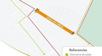 Anuncian desvíos en barrio María Auxiliadora por obras sobre Primer Presidente – Prensa 5