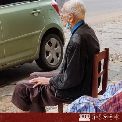 Policía informa que ya ubicaron a familiares de abuelito abandonado