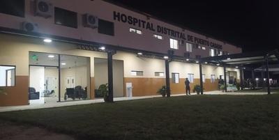 Inauguran hospital de Puerto Casado equipado por la Eby