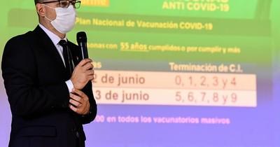 La Nación / Desde mañana vacunarán a personas de 55 años o por cumplir contra el COVID-19