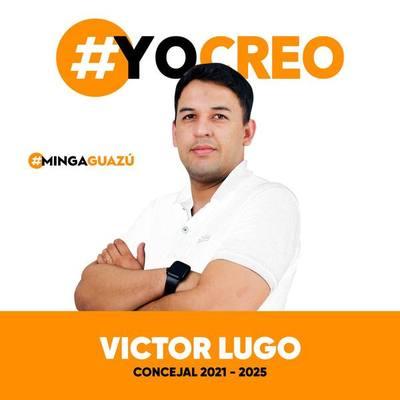 Víctor Lugo aspirante a concejal en Minga Guazú METIDO en NEGOCIADO con la costanera de CDE