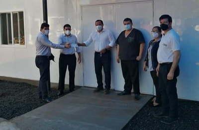 Gobernación entrega aporte a Consejo Local de Salud de Yuty