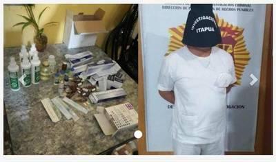 Detienen a un enfermero y a su cómplice por vender medicamentos de Salud