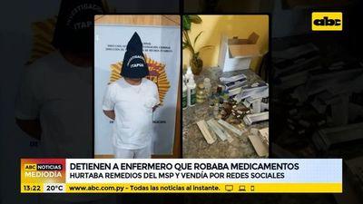 Detienen a enfermero que robaba medicamentos