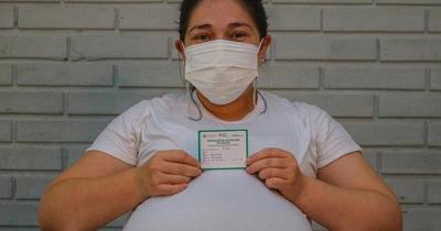 Hoy inició vacunación a embarazadas en Concepción
