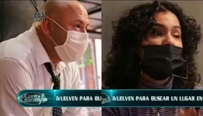 """Llorando, Araceli pidió no volver al """"Canta"""" con Freddy Valenzuela"""