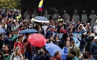 Polémica por sindicalista colombiano que dice que protestas les dará el poder