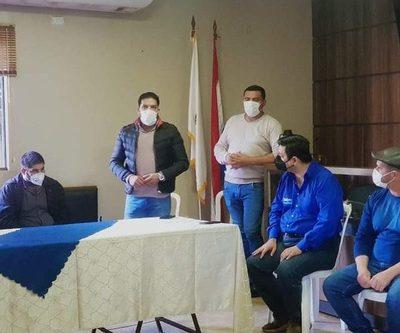 Candidatos por Cambio Radical-PLRA realizan cierre de campaña en Franco