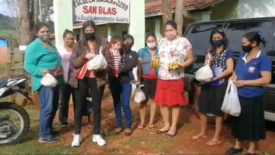 Denuncian que kits de alimentos en Guairá consisten solo en bananas