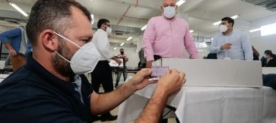 Auditan maletines electorales para internas de la ANR y PLRA