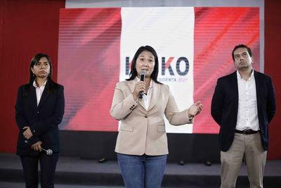 Fujimori acusa al presidente Sagasti de entrometerse en el proceso electoral