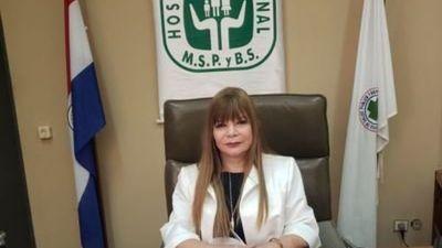 """Directora de Hospital Nacional: """"Después de las elecciones llegamos a 200"""""""