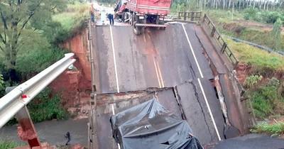 La Nación / Abdo deslinda responsabilidad de su gobierno en derrumbe de puente