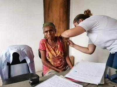 Solo quedan 70 dosis de COVID-19 en Alto Paraguay