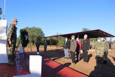 Inauguran mejoras en el Fortín Isla Po´i