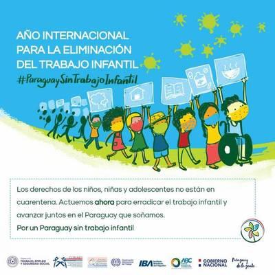 """Invitan a unirse a la campaña """"Paraguay sin trabajo infantil"""""""
