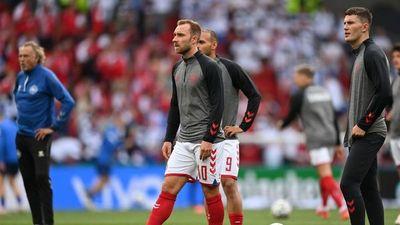 Angustia en la Eurocopa por la salud de Christian Eriksen