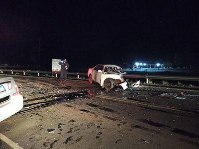 Dos fallecidos en accidente automovilístico en Caazapá