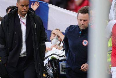 """""""Christian Eriksen fue traslado a un hospital y se ha estabilizado"""""""