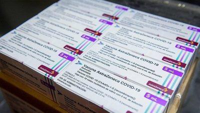 Argentina recibe este sábado 811 mil vacunas Astrazeneca