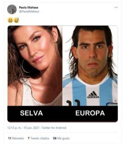 Paola Maltese incendió Twitter con un meme burlón sobre elpresidente argentino