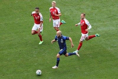 La UEFA designa a Eriksen 'jugador del partido' del Dinamarca-Finlandia