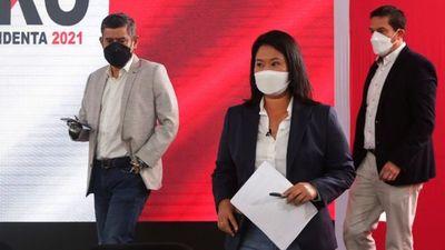 Fujimori insiste en  que hubo fraude en comicios en Perú