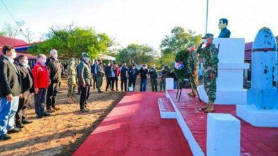 Conmemoran la Paz del Chaco en uno de los sitios históricos