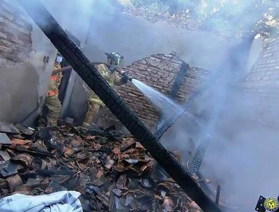 Fatal incendio en Luque •