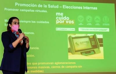 Salud insta a candidatos a promover campañas virtuales