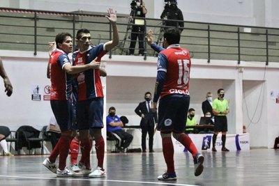 Cerro se divirtió y vapuleó 9-1 a Olimpua en futsal