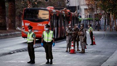La región metropolitana chilena entró en otra cuarentena total