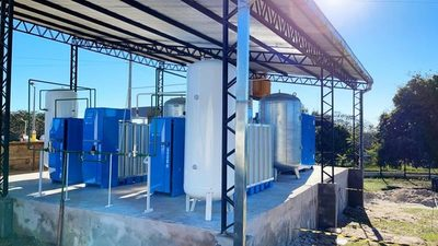 IPS pone en funcionamiento planta de oxígeno en Santaní
