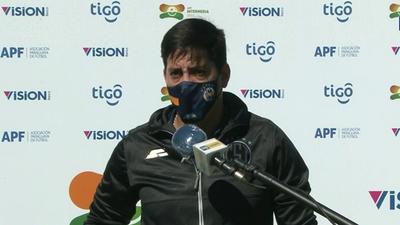 Mario Jara y José Arrúa, con opiniones diferentes luego del empate