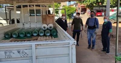 La Nación / Mediante sentencia judicial destinan 10 balones de oxígeno al hospital de Lambaré
