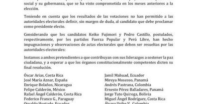 La Nación / Instan a no declarar ganador antes de definir impugnaciones