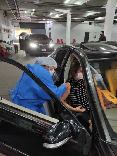 Asunción alcanzó casi 17 mil vacunados durante el fin de semana