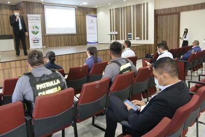 Capacitan sobre facilitación y seguridad turística en Santa Rita