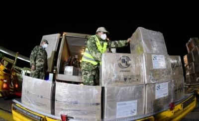 Llegó lote de 150.000 vacunas donadas por el gobierno de México