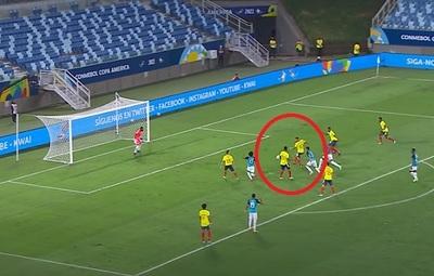 """Colombia sorprende con un impecable gol """"de pizarra"""""""