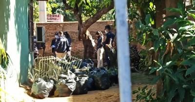 La Nación / Hallan restos óseos que serían de Analía Rodas, joven desaparecida