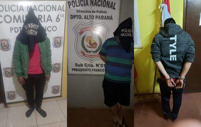 Ocho detenidos por violencia familiar durante el fin de semana en Alto Paraná