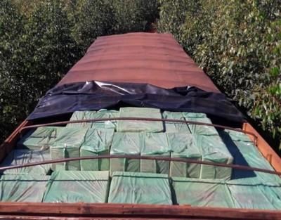 Cae 2 mil cajas de CIGARRILLOS producidos por TABESA