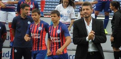 ¿El nuevo DT de San Lorenzo comparó a los Romero con 'Teo' Gutiérrez?