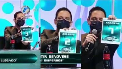 """Así fue la polémica participación de Genovese en el jurado del """"Canta"""""""