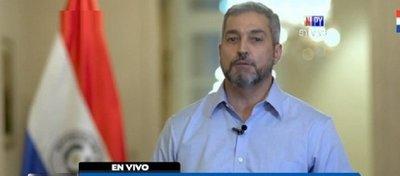 Mario Abdo Benítez veta proyecto de ley de autoblindaje