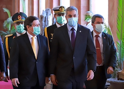 Abdo Benítez felicita al nuevo primer ministro de Israel, Naftali Bennett