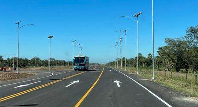 Primeros 36 km de la nueva ruta Transchaco ya está habilitados para el tránsito